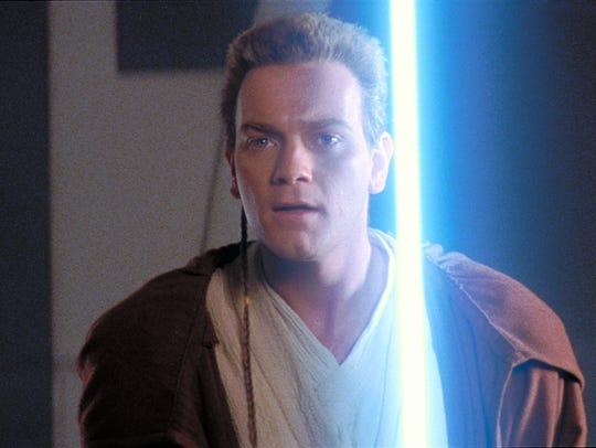 Ewan McGregor starred as Jedi Master Obi-Wan Kenobi