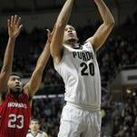 Purdue senior center A.J. Hammons averages 12.5 points, 8.0 rebounds and 2.5 blocks.
