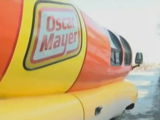23497437 likewise Os Ap Wienermobile Crash 20150216 Story likewise Chi Wienermobile Crash 20150216 Story further Oscar Mayer Wienermobile Crashes In Pennsylvania additionally That Wienermobile Crash Photo Facebook Its From 2008. on oscar mayer wienermobile slid off the road