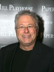 """Composer Alan Menken during the run of his musical, """"The Hunchback of Notre Dame."""""""