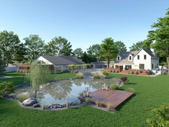 Renderings of what the Elm Estate, a new wedding and