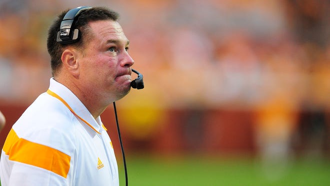 Tennessee coach Butch Jones
