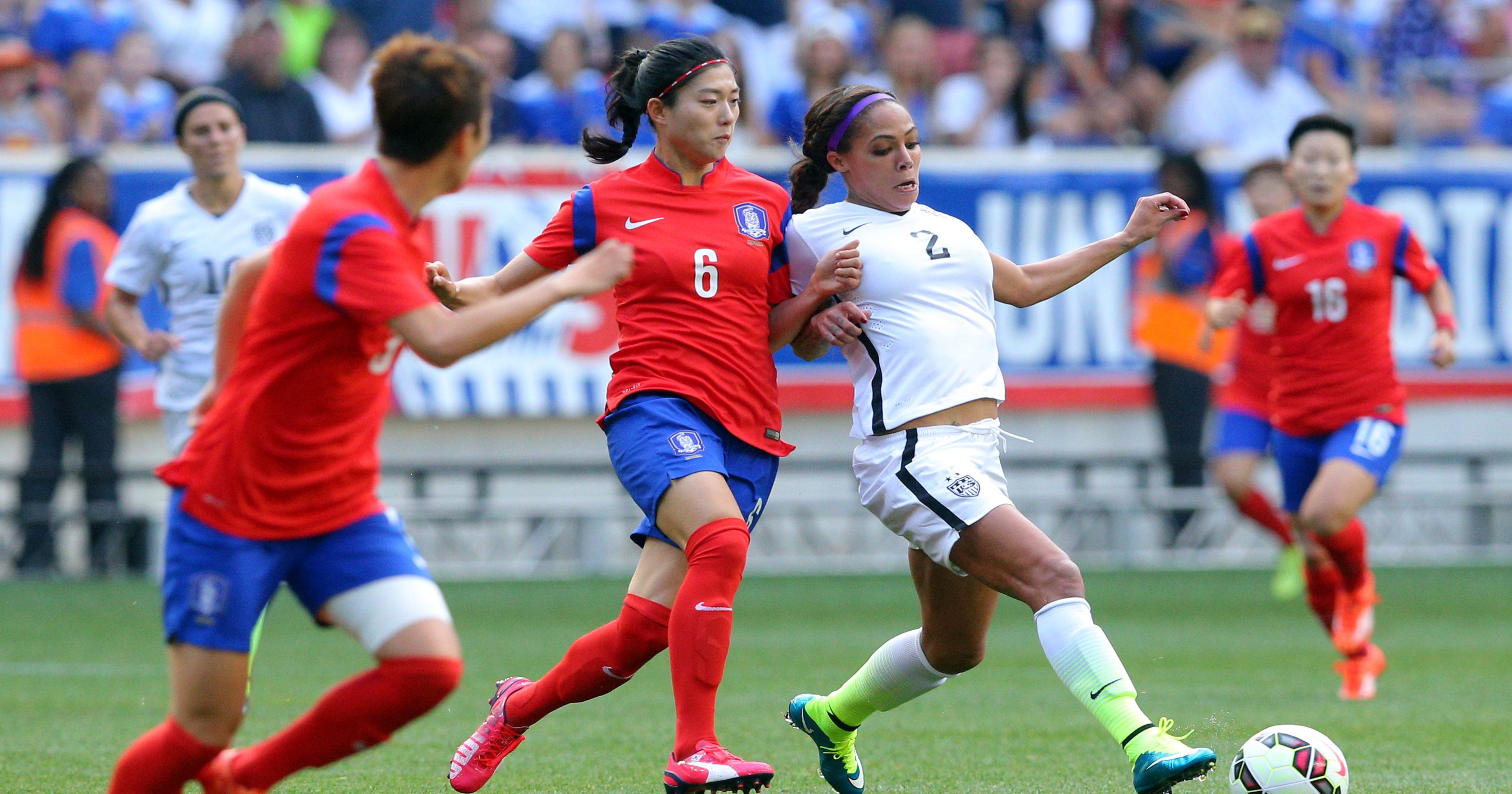 USA's Sydney Leroux has two homes, but one dream to win World Cup