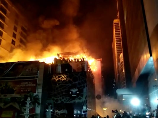 AP INDIA BUILDING FIRE I IND