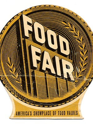 Joan Concilio found this Food Fair promotional needle-holder at an antique shop in Adamstown, Lancaster County.