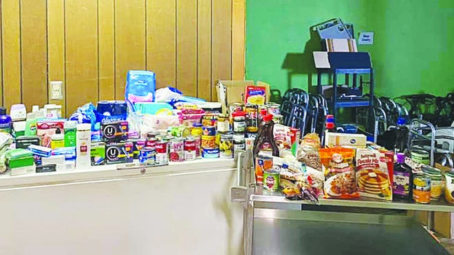 Personal hygiene products and a wide variety of food poured into the Hope Center in Pratt as a result of Archer photography's Front Step Fundraiser earlier this month.