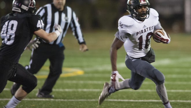 Junior standout Bo Melton is a threat to score whenever he gets his hands on the football.