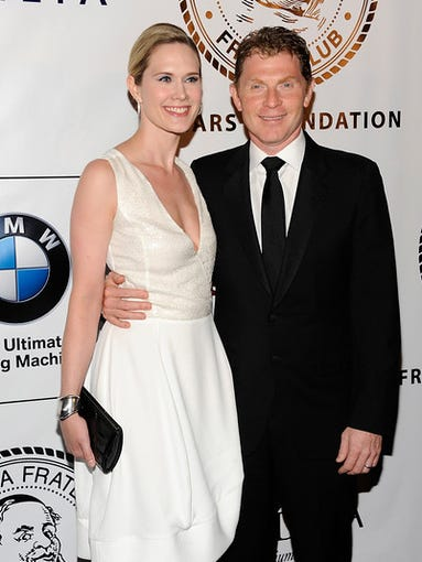 """""""Actress Stephanie March and chef Bobby Flay attend"""