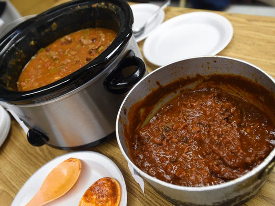 Two types of donne infused chili were ready for competition at the Mangilao Donne Festival in Mangilao on Sept. 13.