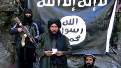 A video grab released by the Tehreek-e-Taliban Pakistan
