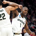 Miles Bridges lights up Bucknell, leads Michigan State to 82-78 win in NCAA tournament