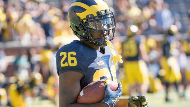 Cornerback Jourdan Lewis and the Wolverines will face Wisconsin Saturday in Ann Arbor.