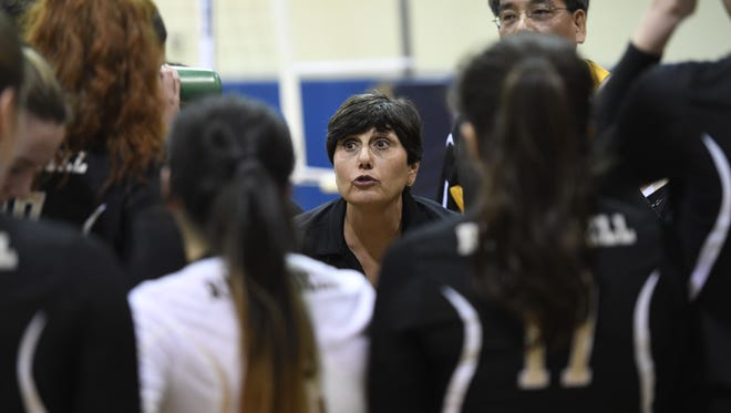 Dianne Furusawa of River Dell is The Record 2016 girls volleyball Coach of the Year.