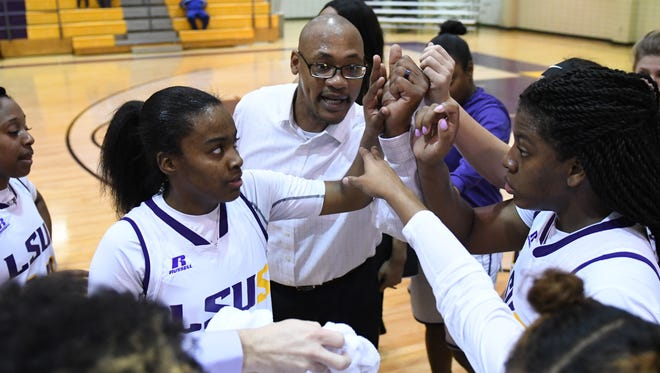 LSUS coach Curtis Loyd has been named the Red River Athletic Conference Coach of the Year.