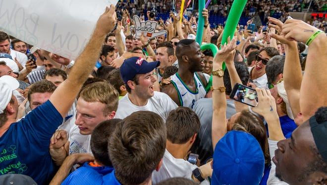 Things promise to be crazy again in Alico Arena when the FGCU men and their fans gather on Sunday to monitor the Eagles' NCAA tournament draw.
