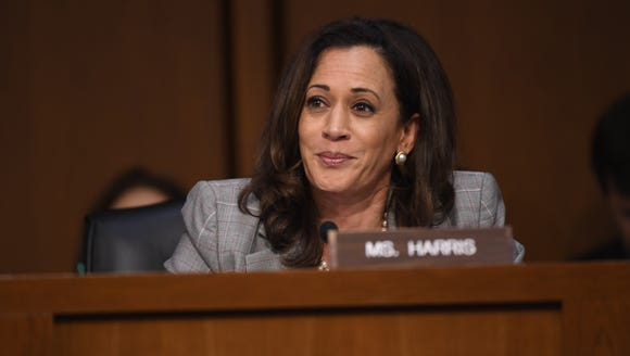 Sen. Kamala Harris questioned Attorney General Jeff