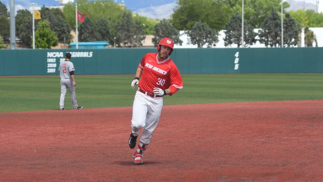Rocky Mountain High School graduate Carl Stajduhar, shown playing in college at New Mexico, made his pro baseball debut last week.