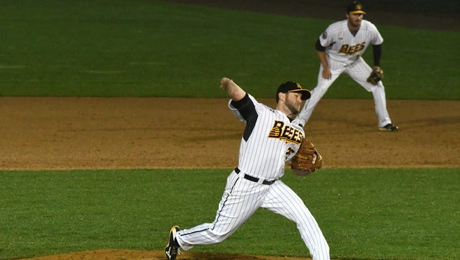 New Britain Bees pitcher Casey Coleman, who was born in Fort Myers, Florida, is anxious to return south to help out those affected by Hurricane Irma.