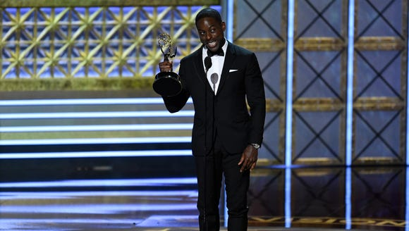 Sterling K. Brown was not pleased that his Emmys speech