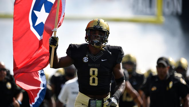 Vanderbilt cornerback Joejuan Williams