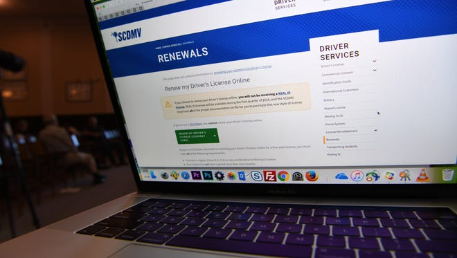 The State Department of Motor Vehicles started the option of license renewal online.