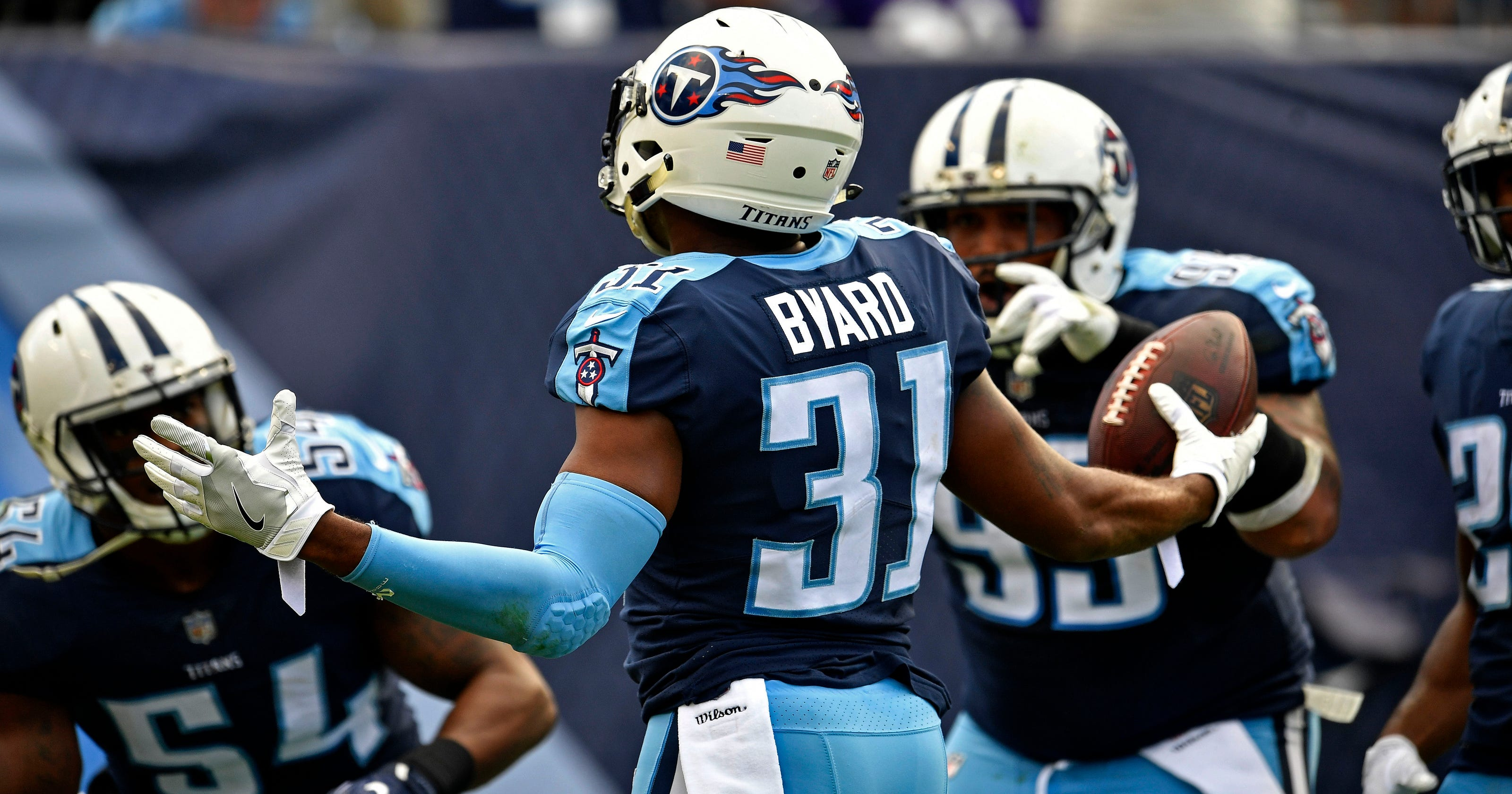 3b0e2955b Titans  Kevin Byard on pace for 14 turnovers   If the ball is in the air