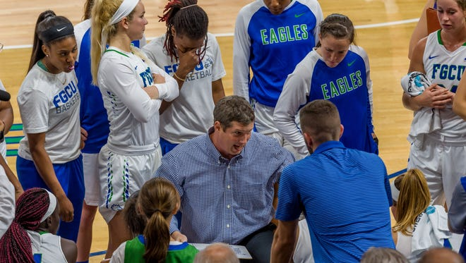 FGCU coach Karl Smesko's team played eight games in 13 days, including three straight in Las Vegas against big-time competition.