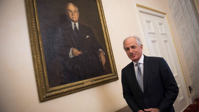 "Sen. Bob Corker announced in September that he would not seek re-election. According to reports, some Republicans are encouraging him to run again. His spokeswoman said Tuesday that Corker ""has been encouraged to reconsider his decision and is listening closely."""