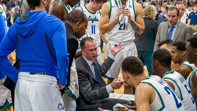 Fifth-season FGCU coach Joe Dooley likely will be pursued by the athletic directors of other programs although the Eagles failed to make the NCAA tournament for the third straight time.
