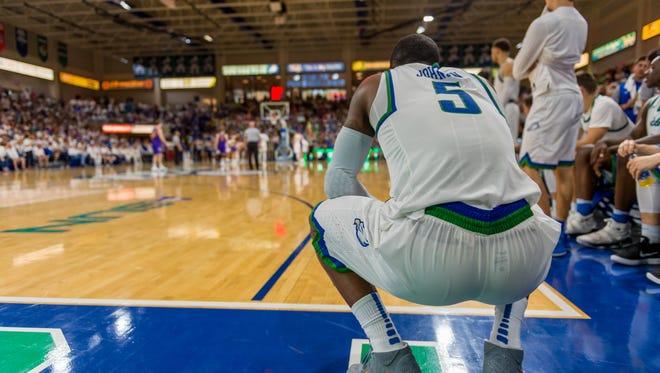 FGCU All-ASUN junior guard Zach Johnson and his teammates were devastated by the home upset by Lipscomb in the conference tournament final that kept them out of the NCAA tournament. But the Eagles insist they have rebounded as they looked forward to Tuesday night's NIT first-rounder at Oklahoma State.