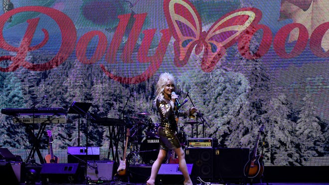 """Dolly Parton helped launch Dollywood's """"Season of Showstoppers"""" with a special preview for media and season pass holders Friday, March 16, 2018."""