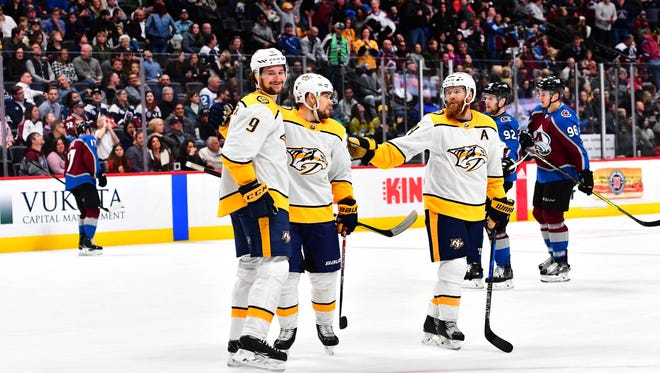 The Predators are in position to clinch the top seed in the Western Conference with 10 games left in the regular season.