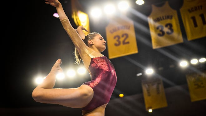 Arizona State women's gymnastics is back in the postseason as a team for the first time since 2014, competing Saturday in a NCAA regional at Penn State.