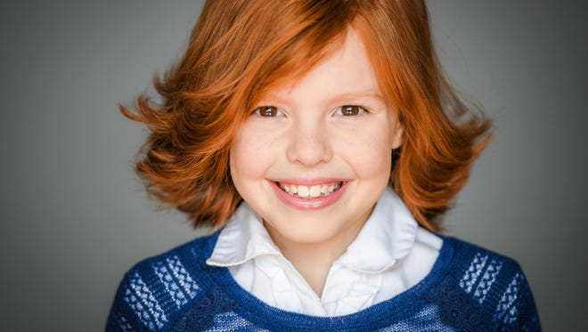 Chloe Ernsberger, 9, of Shelby, will appear on an episode of Legion at 10 p.m. Tuesday.