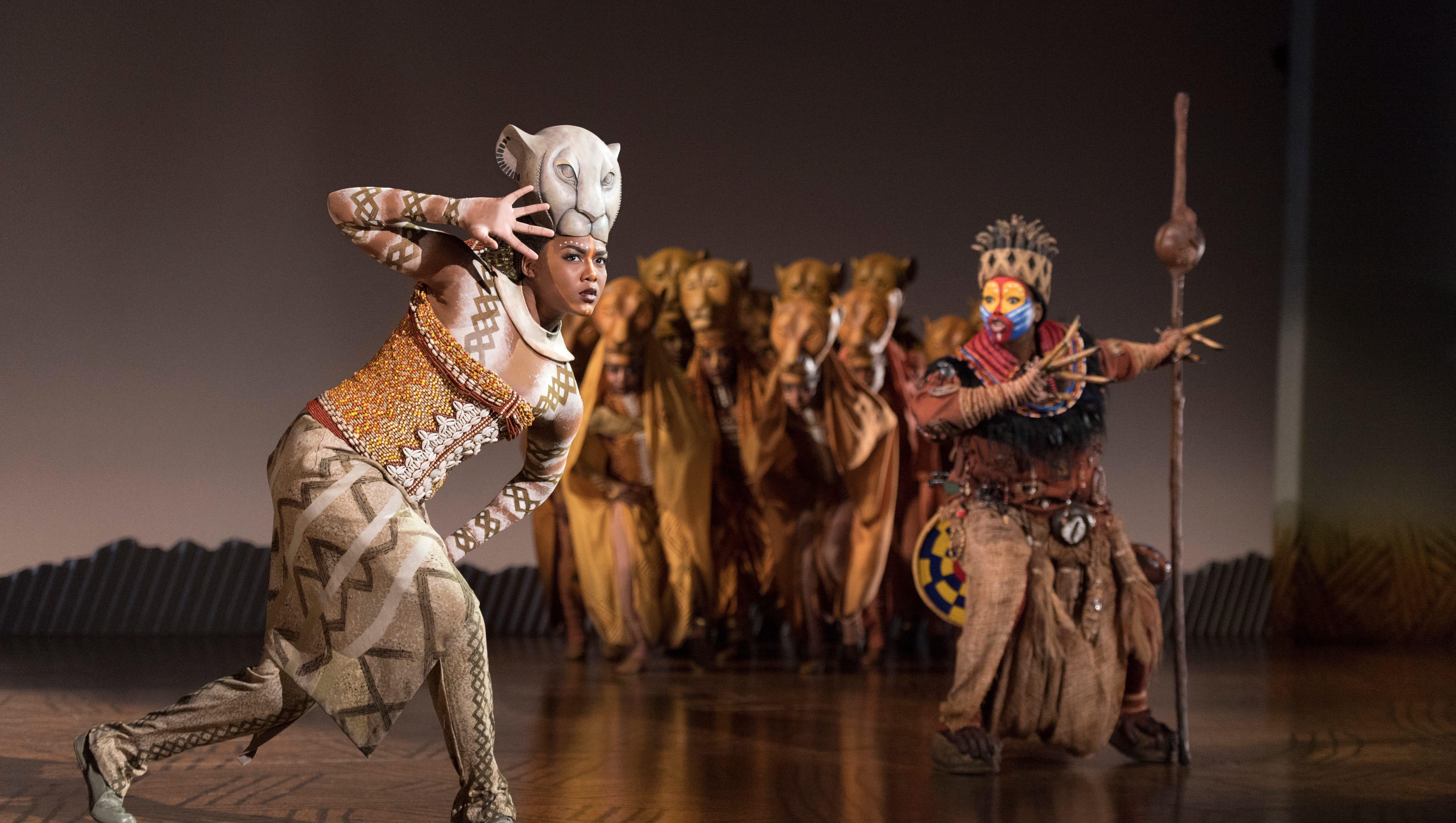 lavish broadway touring show  u0026 39 the lion king u0026 39  is central