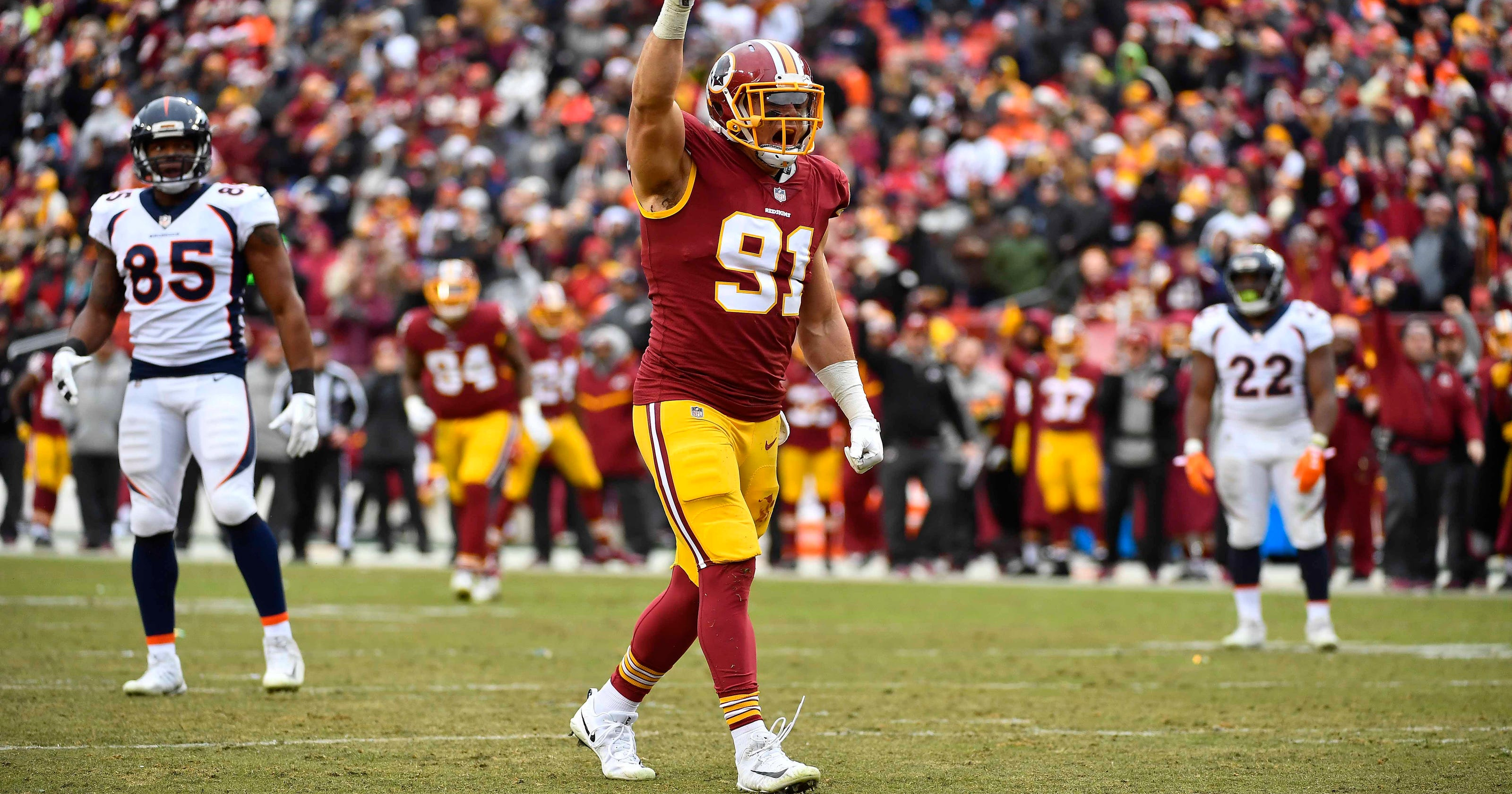 Former Purdue defensive star Ryan Kerrigan still has big goals in NFL 92e4f3cfb