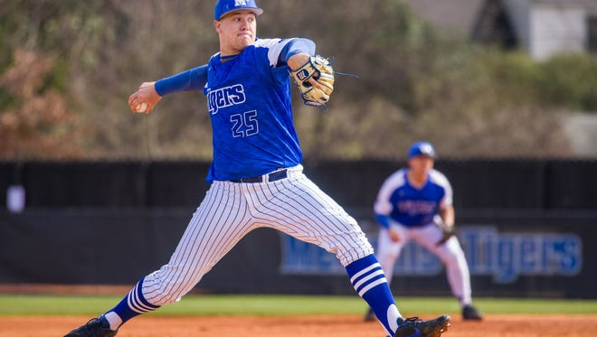 Jonathan Bowlan, University of Memphis pitcher, was the 58th overall pick in Monday's MLB draft, selected by the Kansas City Royals