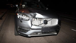 Tempe police released photographs from the pedestrian death involving an Uber self-driving car. A 49-year-old woman was hit and killed by a self-driving Volvo operated by Uber while crossing a street in Tempe