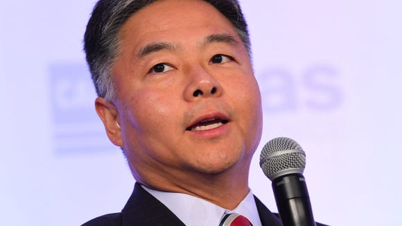 Rep. Ted Lieu, D-Calif., during a session of the Center