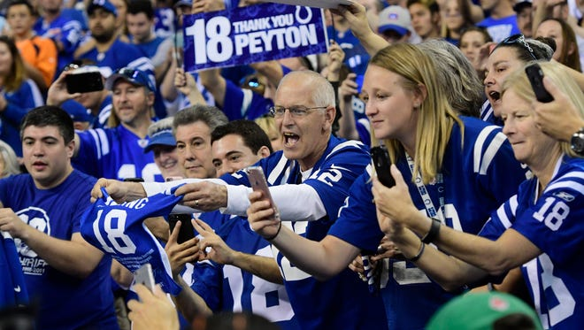 According to the Colts, season-ticket renewals have fallen three years in a row.