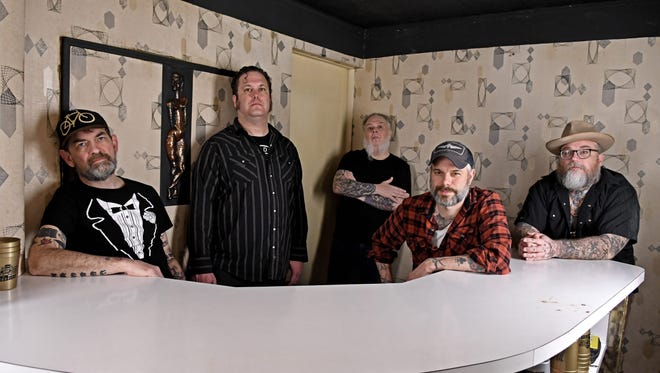 Lucero: (From left ) Roy Berry, John C. Stubblefield, Rick Steff, Ben Nichols and Brian Venable SEPT. 7 LUCERO: 8 p.m. Ryman Auditorium, $25-$35