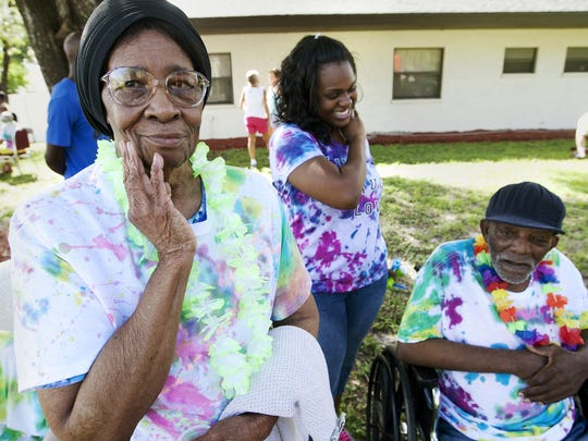 The Hidden Oaks Assisted Living facility in Fort Myers was shutdown recently by state regulators because of unsafe and unsanitary living conditions that persisted for more than two years at the 110-bed facility. (Alzheimer's patient Alice Milton attends a party for Alzheimer's patients in 2013 at Hidden Oaks.)