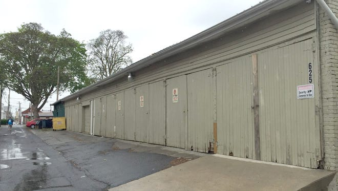 The owner of this row of commercial garages at 625 Federal St., Lebanon, recently won an appeal in Commonwealth Court, which overturned Lebanon Zoning Hearing Board's ruling that his tenants could not work on their vehicles inside them.