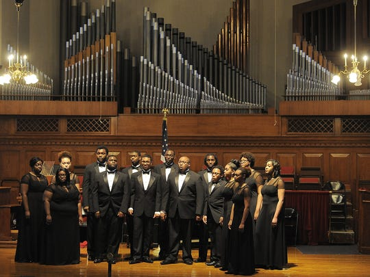 The Fisk Jubilee Singers will perform at 10 a.m. Oct. 6 as part of the Jubilee Day Convocation in Fisk Memorial Chapel on the Fisk University campus.