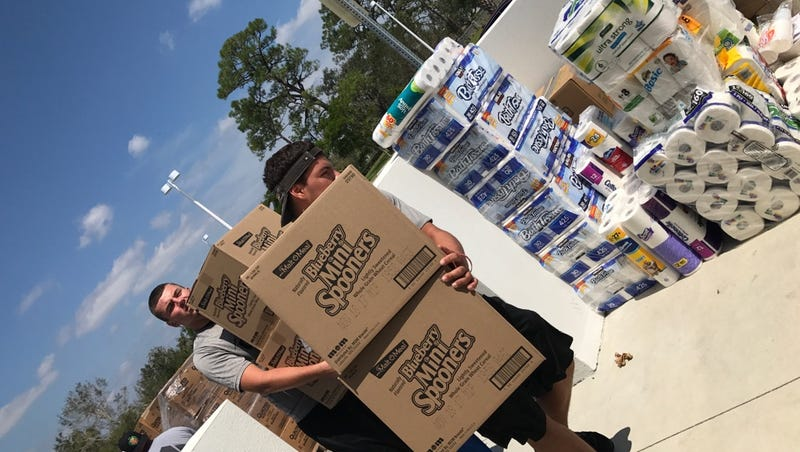 Prep Football: Players aid in Irma recovery during time off