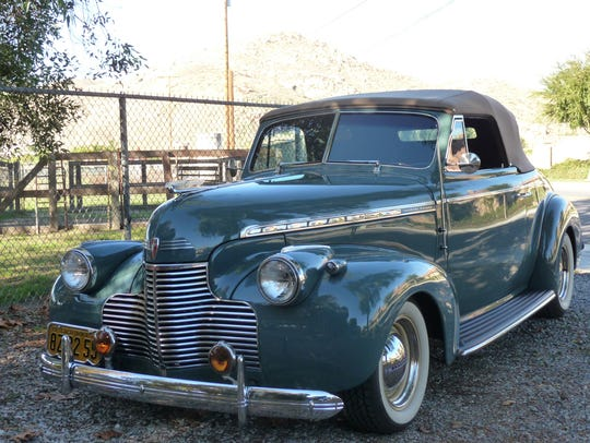 A 1940 Chevy ZZ4 owned by Ted and Kathy Fuchs. It will