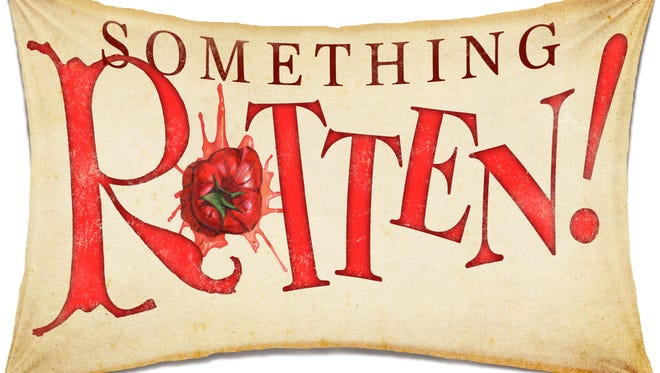 "A production of ""Something Rotten!"" will come to the Saenger Theatre in downtown Pensacola Nov. 19 as part of the 2018-2019 Broadway in Pensacola season."