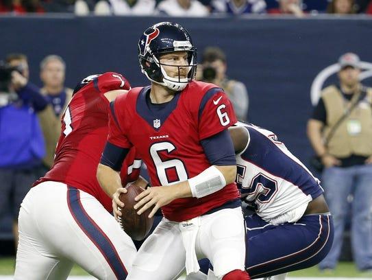 Houston Texans quarterback T.J. Yates