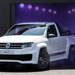 Volkswagen showed a new Amarok piciup truck concept last May in Austria