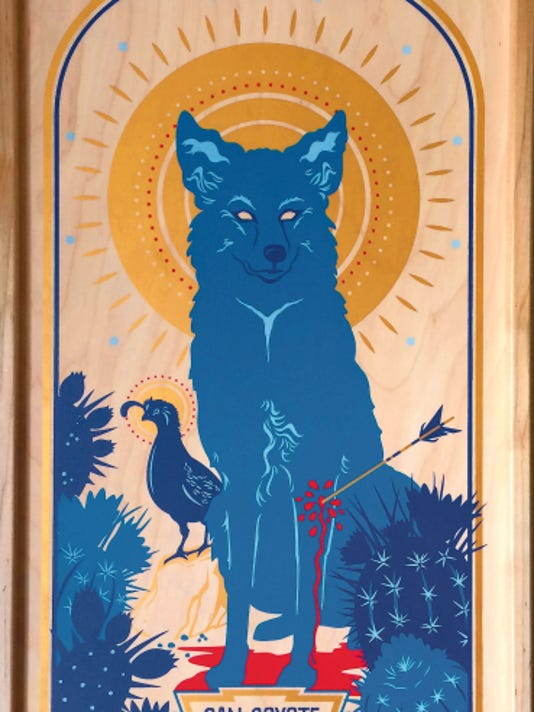"""Courtesy photo   A new exhibit, """"Native New Mexico: The Art of Collette Marie,"""" features colorful screen prints and paintings of New Mexico animals, and opens Aug. 13 at the New Mexico Farm & Ranch Heritage Museum."""